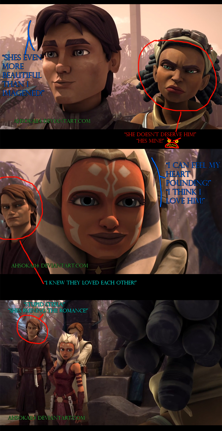 TCW Season 5 A War On Two Fronts-Expressions by Ahsoka114