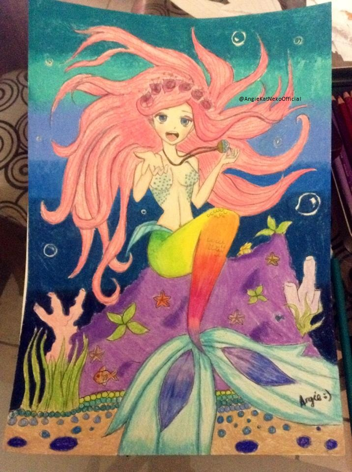 Mermaid OC By AngieKatNekoOfficial On DeviantArt