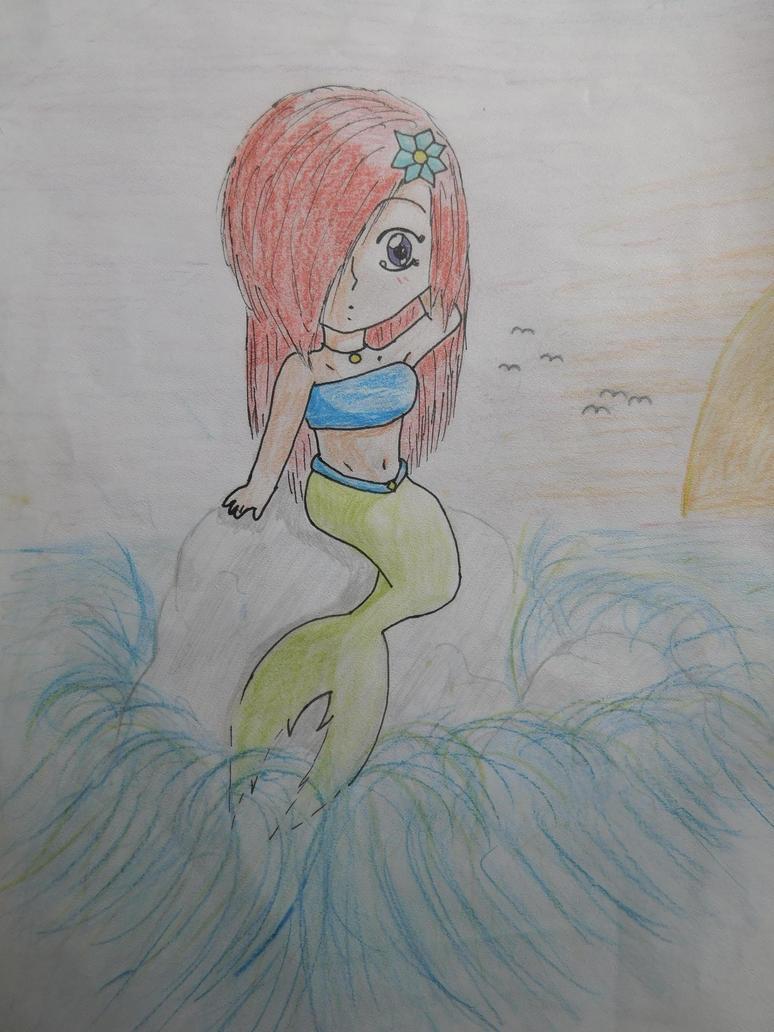 Mermaid 2014 by BunnyAnima
