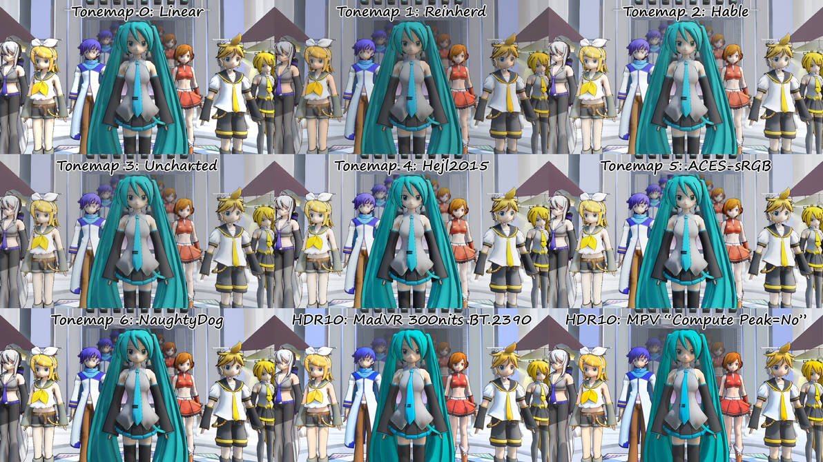 MMD Raycast] Tonemapping + HDR10 Output! by Jonicito1994 on DeviantArt