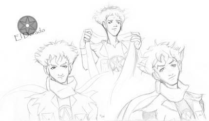 Random YJ Eduardo sketches by hlwar