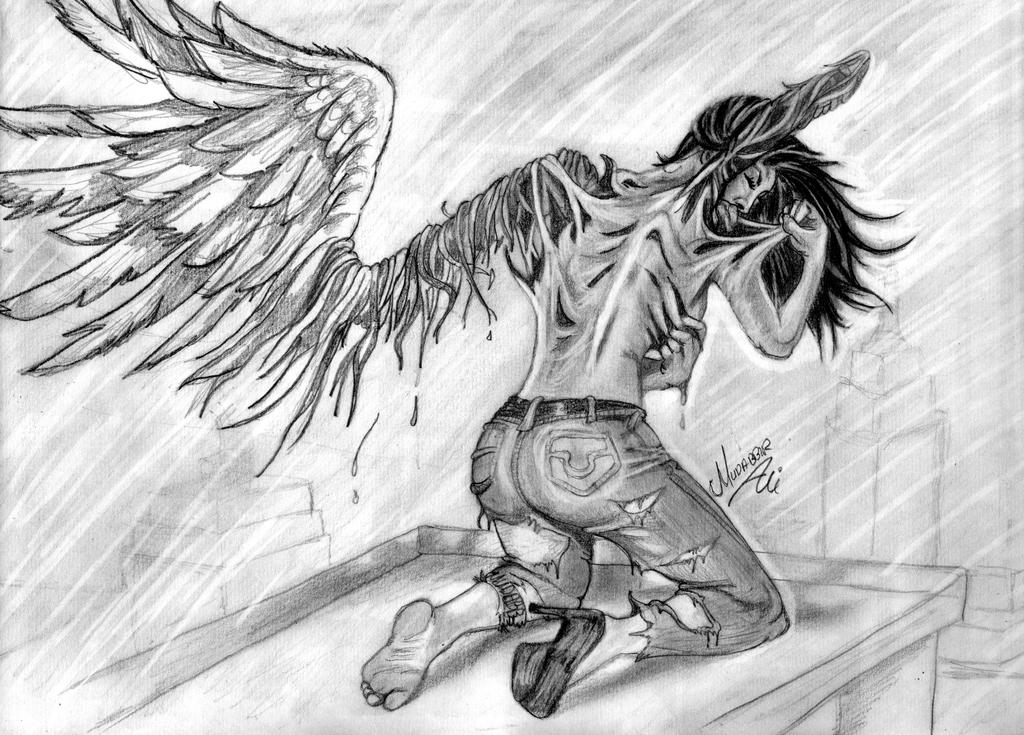 pain angel by mudabbirali on deviantart