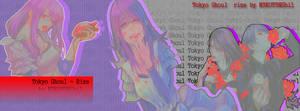 Rize Tokyo Ghoul Banner - N3K0T3NShi1