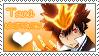 Tsuna Stamp by N3K0T3NShi1 by N3K0T3NShi1