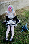 Ram and Rem Demon Fusion Cosplay