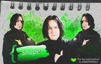 Snape Special Edition by N3K0T3NShi1