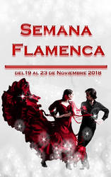 Semana Flamenca Cartel by N3K0T3NShi1