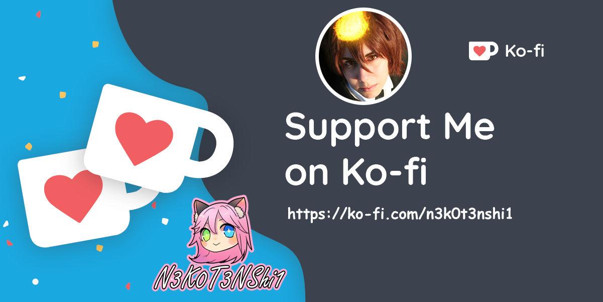 SUPPORT ME ON KOFI