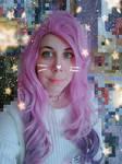 Seraphine Cosplay Selfie