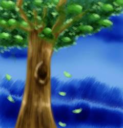 Pixel-ish Tree