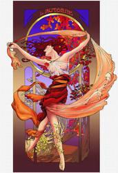 Spirit of Autumn by saeriellyn