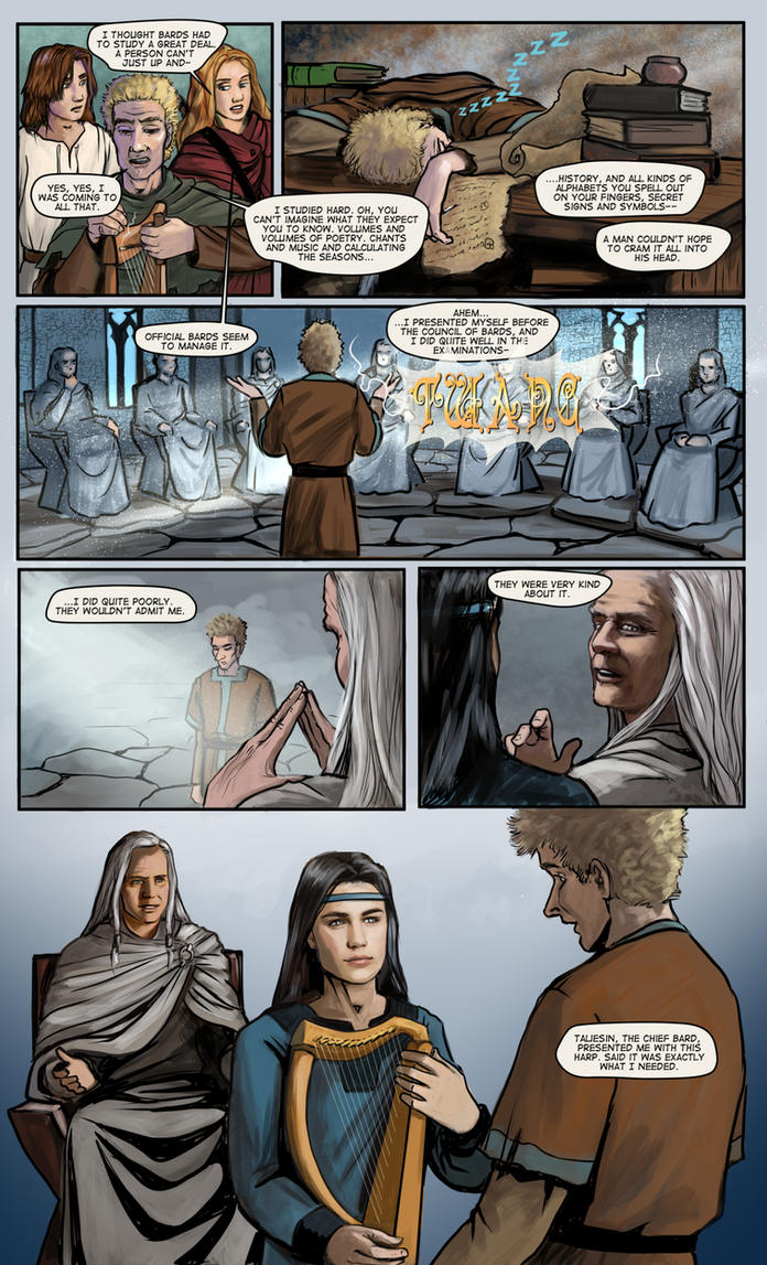 Prydain: the Graphic Novel, Chapter 10 Page 7 by saeriellyn