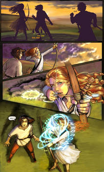Prydain: the Graphic Novel, Chapter 12, Page 4