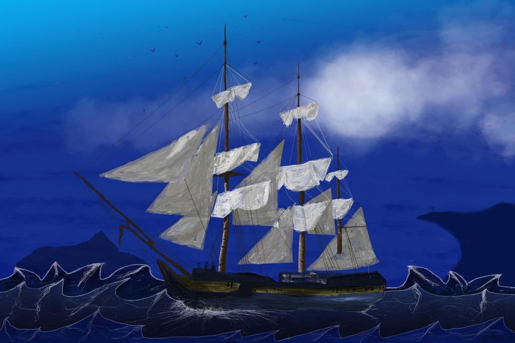 Ship by M-MW