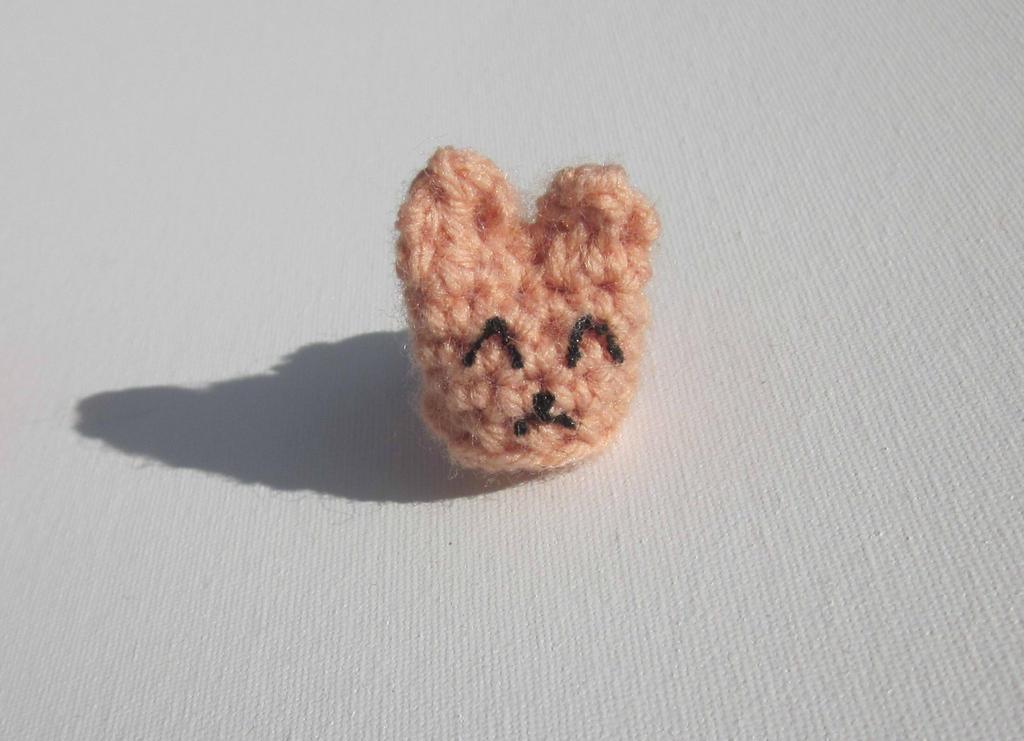Tiny Amigurumi Rabbit : Tiny Amigurumi Bunny by Oni4219 on DeviantArt