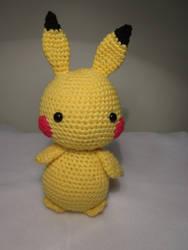 Amigurumi Pikachu by Oni4219