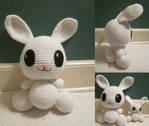 Super Size Amigurumi Angel Bunny