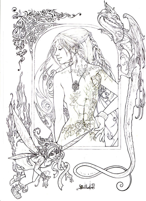 fantasy figure by Pallat
