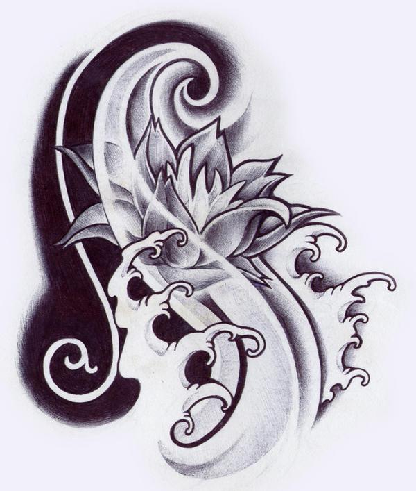 oriental flower by PallatOriental Flower Design