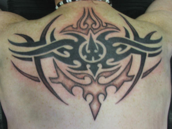 Tribal Tattoo on Back