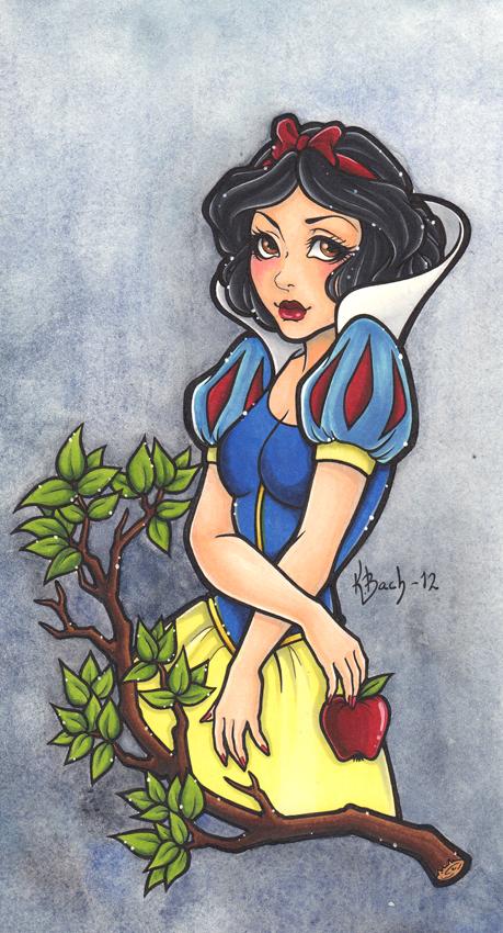 Snow White by BlueUndine