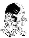 Alice Lineart