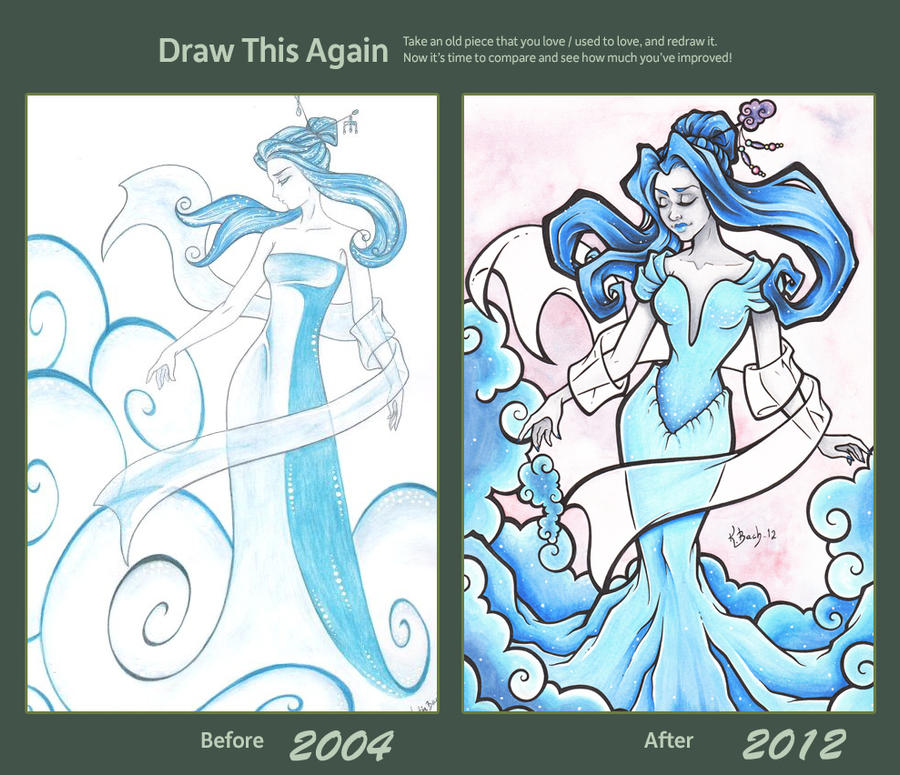 Draw This Again by BlueUndine
