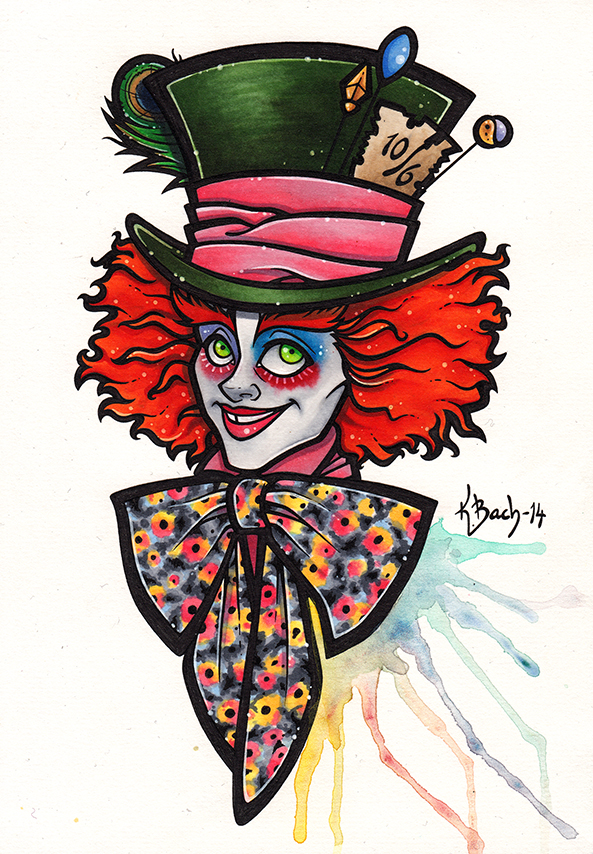 The Mad Hatter by BlueUndine on DeviantArt