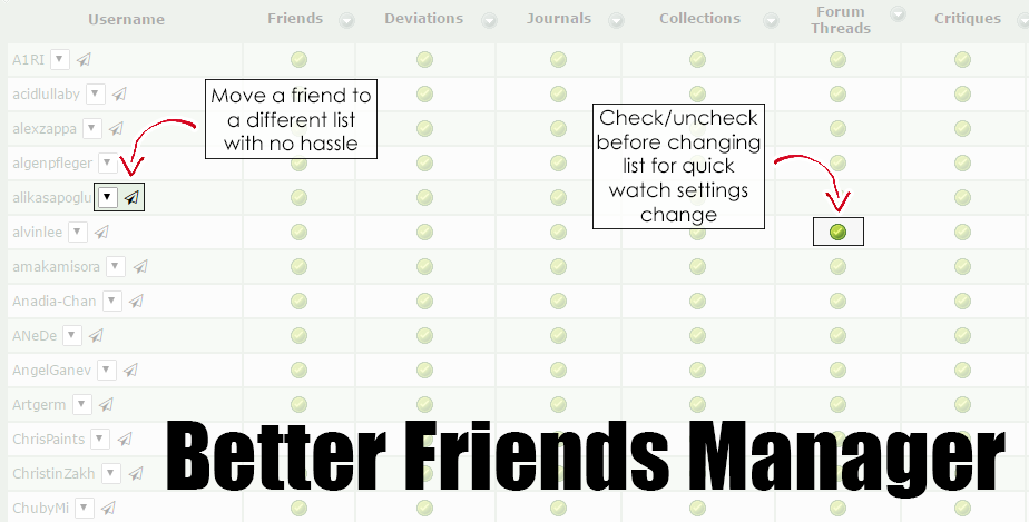 dA Better Friends Manager by Ode-Chan