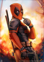 Kinky Deadpool by Ode-Chan