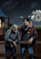 Superman home by nfxdesign