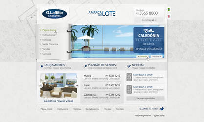 Layout Glaffitte by nfxdesign