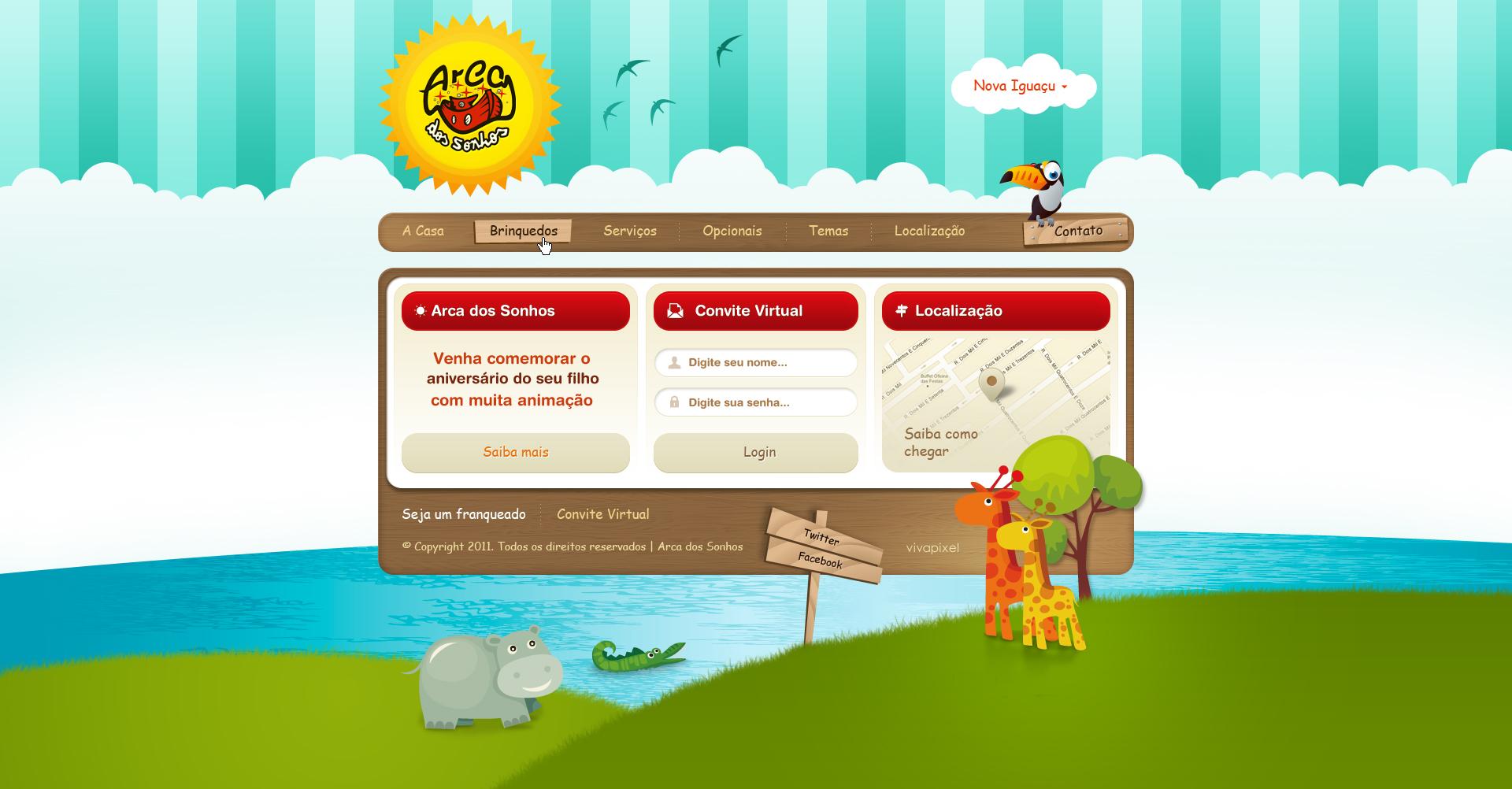 Arca dos Sonhos by nfxdesign