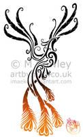 Tattoo Design - Phoenix by megcowley
