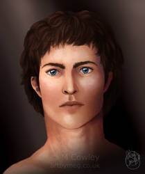 Soren (Speed paint) by megcowley