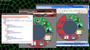 Nav-Circle test screenshots