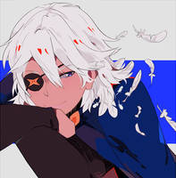 FEATHERY HAIR by Ryuucae