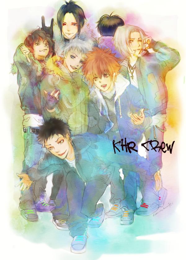 KHR Crew by KarnivalKun