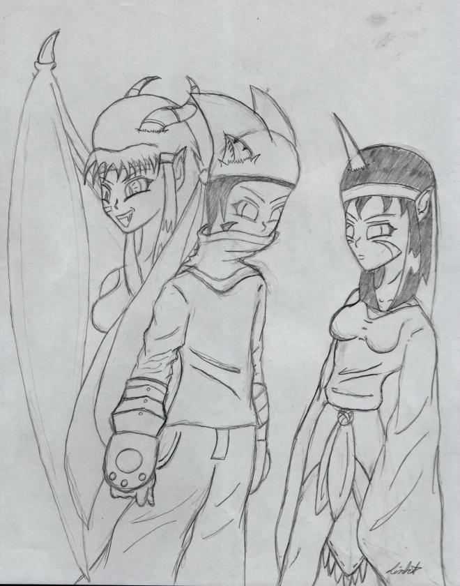 Original Dark Moon Squad by DMonkeh