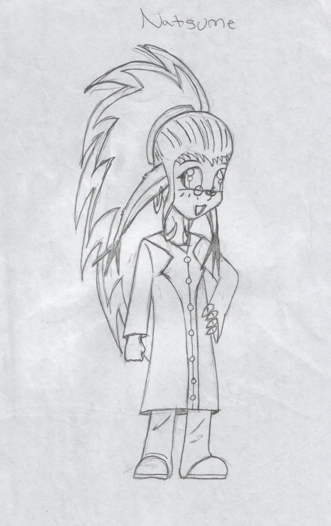 Natsume aka 'Genius Natsu' by DMonkeh
