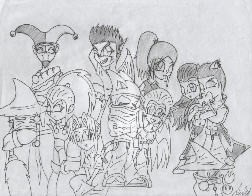 TLF Sketch One by DMonkeh