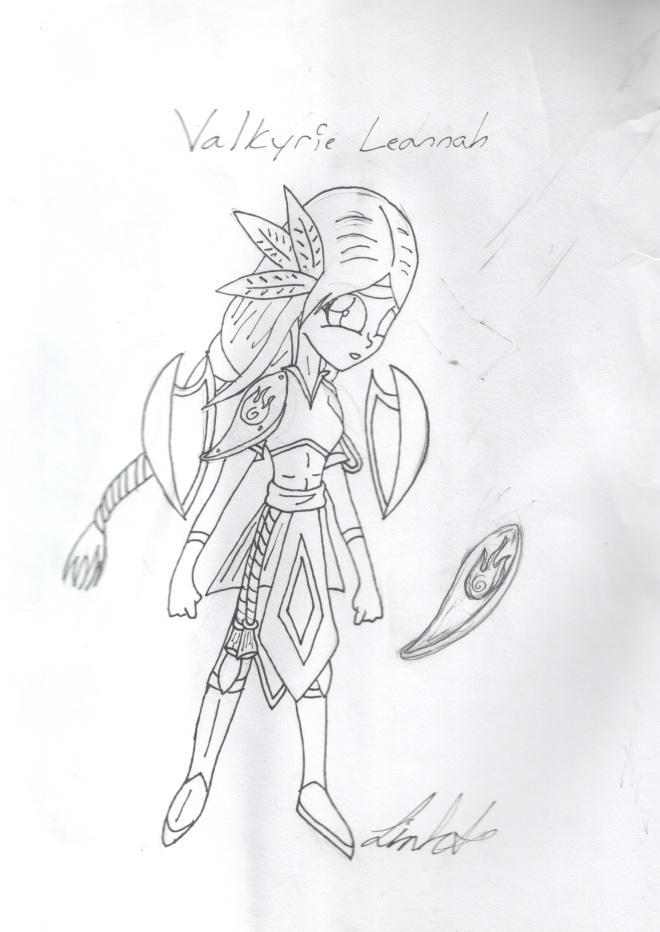 Valkyrie Leannah by DMonkeh