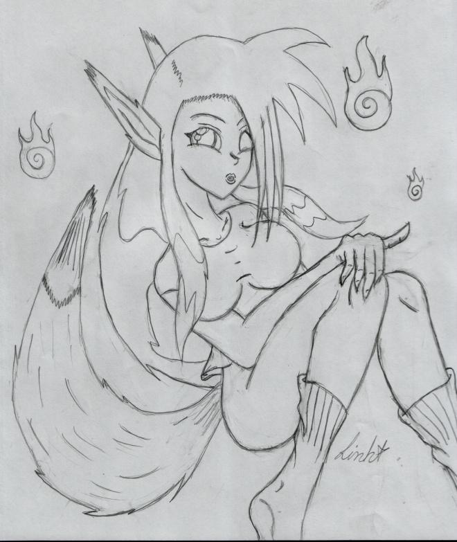 Cutie Kitsune Dyna by DMonkeh