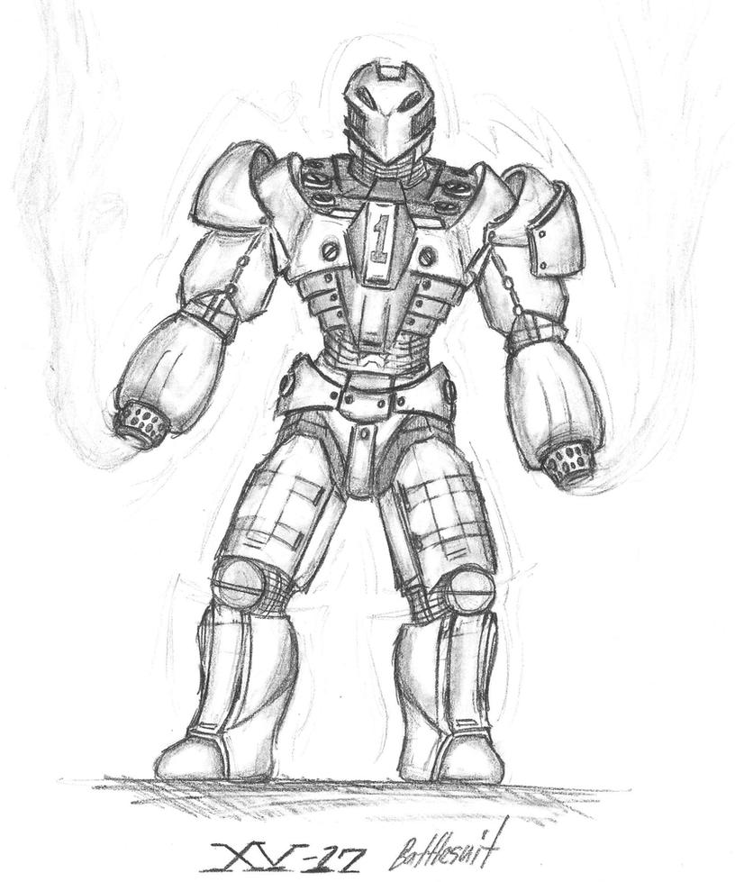 Line Drawing Robot : Concept robot by romanedge on deviantart