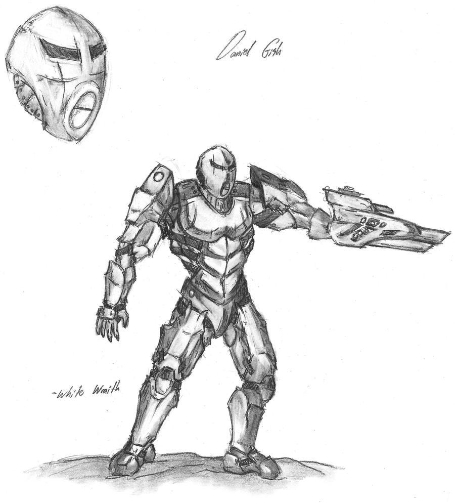 Futuristic Armor Sketch By RomanEdge On DeviantArt