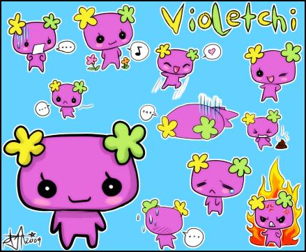 Violetchi-chan by ZombieDaisuke