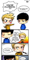 Chibi Trek Filler Comic