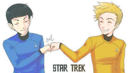 StarTrek: Homies by ZombieDaisuke