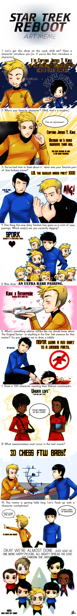 Star Trek Reboot Meme by ZombieDaisuke