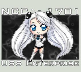 StarTrek: Lady Enterprise by ZombieDaisuke